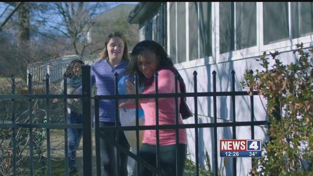 Several Riverview Gardens students will appear in PSA during Super Bowl LI. Credit: KMOV