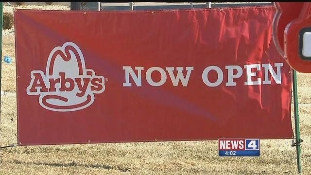 Lots of new businesses, such as this Arby's, are popping up in Ellisville. Credit: KMOV
