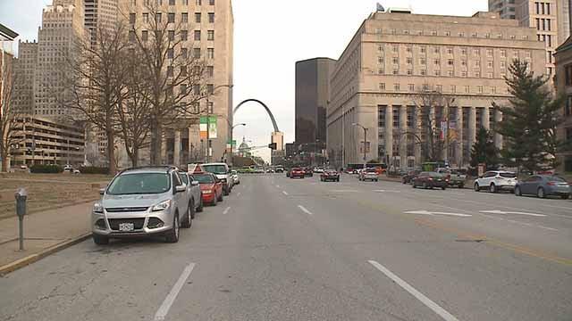 Downtown St. Louis. Credit: KMOV