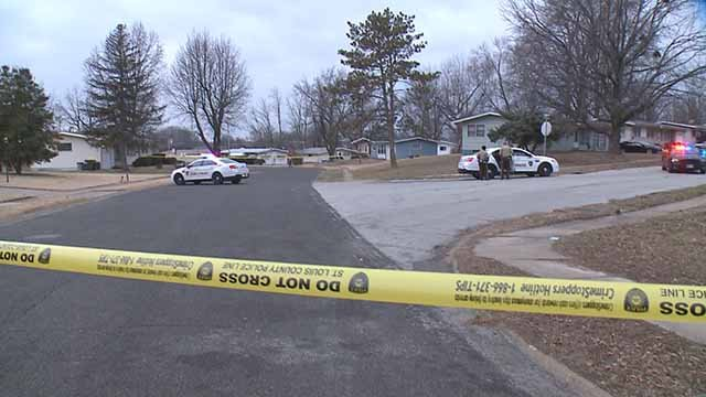A 15-year-old was shot in the chest in Jennings Monday afternoon. Credit: KMOV