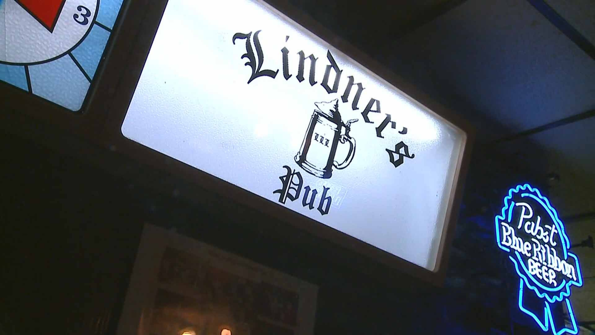 "The owner of Linder's Pub in South City is allowing customers to smoke despite a smoking ban at bars and restaurants. Credit"" KMOV"