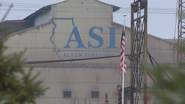 More than 300 steelworkers at Alton Steel had vital personal information stolen. (Credit: KMOV)