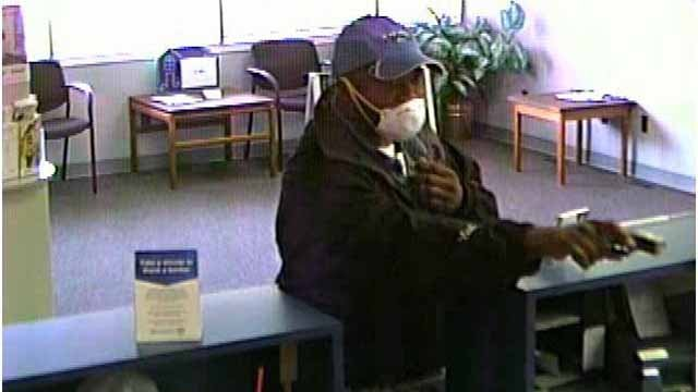 Police believe Marcus Thornton, 37, of Edwardsville robbed a US Bank branch in O'Fallon, Ill. Credit: O'Fallon, PD.