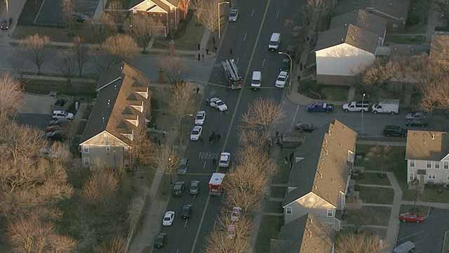 A man was fatally shot in the 1800 block of Cass Thursday. Credit: KMOV