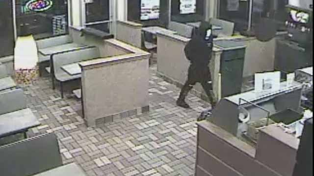 Police are searching for suspects who robbed a Subway on Larimore Road Tuesday night. Credit: St. Louis County PD