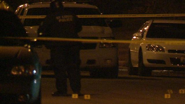 A man was killed in the 5500 block of Cates Thursday night (Credit: KMOV)