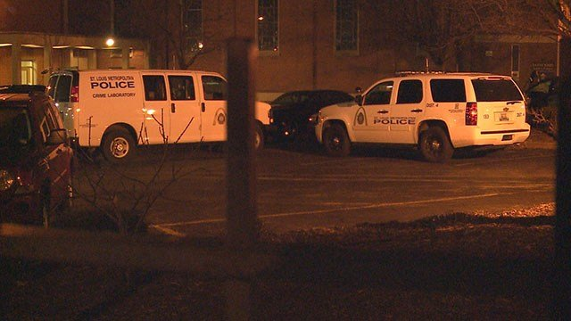 Police were called to 1600 block of Pine about a double shooting Saturday night. (Credit:KMOV)