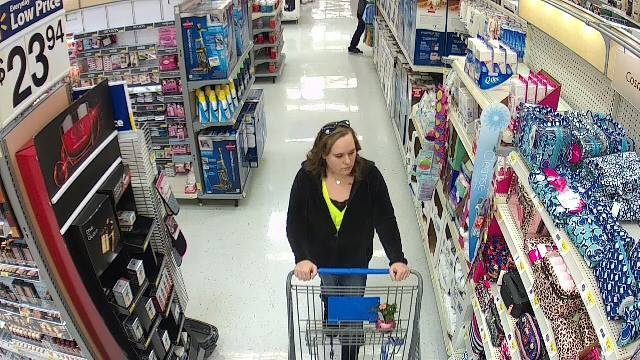 Police in Vandalia are asking for help identifying this woman (Credit: Vandalia Police Department)