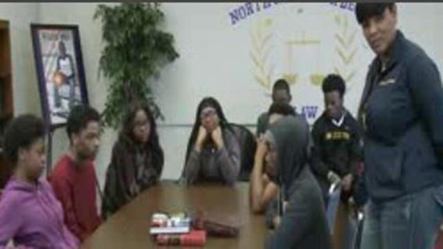 Northwest Academy of Law students (Credit: KMOV)