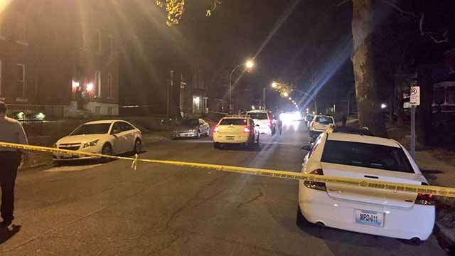 Officers shot a man in South City who allegedly rammed their SUV and pointed a gun at them. Credit: KMOV