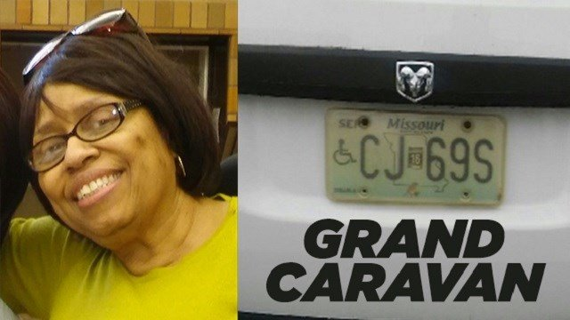 Police search for missing woman with dementia. (Credit: SLMPD)