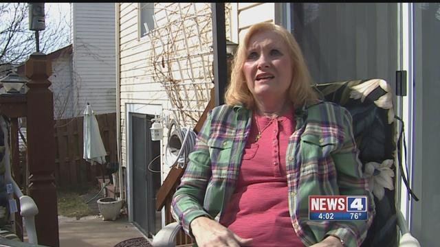 Peggy Manternach said two people from a roofing company came to her home with the intention of scamming her. Credit: KMOV