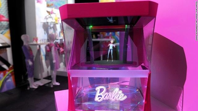 Hologram Barbie (Credit: Mattel)