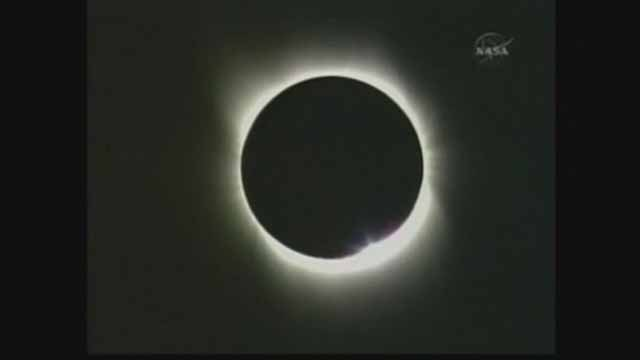 For the first time since 1442, a solar eclipse will be visible in St. Louis. Credit: NASA