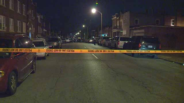 A 63-year-old man was shot and killed in the 4000 block of California in South City Tuesday night. Credit: KMOV