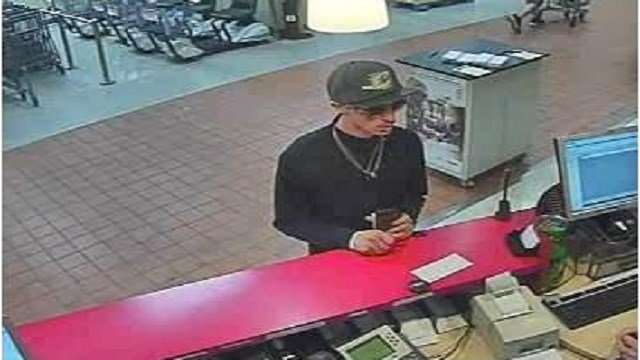 St. Charles Police need the public's help in locating this attempted bank robbery suspect. (Credit: St. Charles Police)