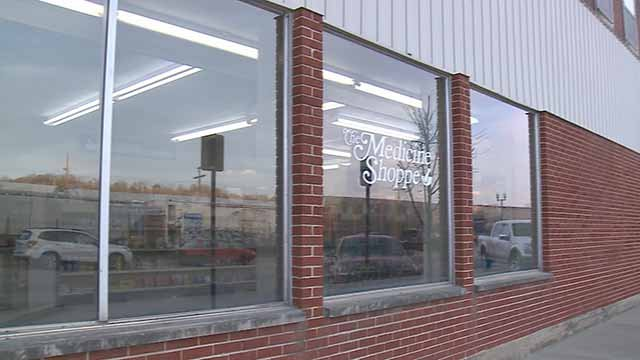 Thieves stole narcotics from the Medicine Shoppe in De Soto. Credit: KMOV