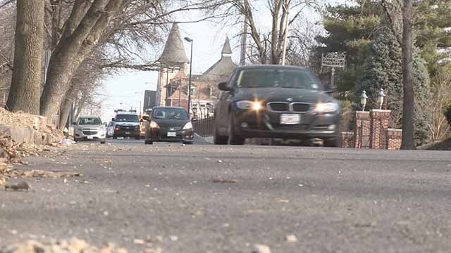Residents along Compton in Compton Heights say speeding is making the street less safe. Credit: KMOV