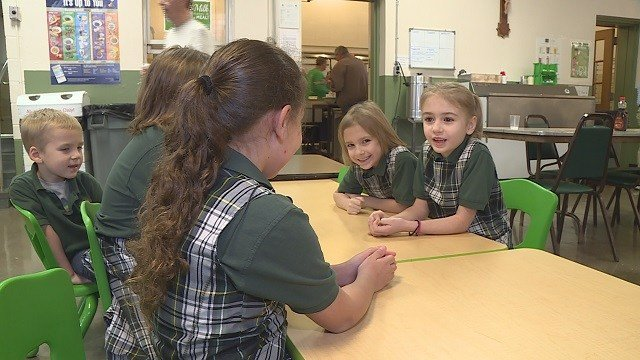 Students of St. James the Greater (Credit: KMOV)