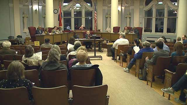 The University City Council debated implementing a hate crimes' registry Monday night. Credit: KMOV