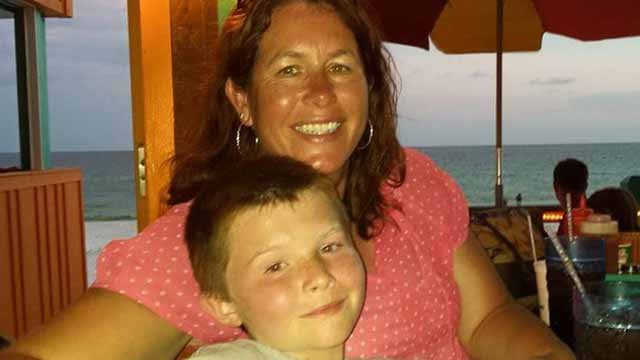 Michelle Staed and her son Logan were among six injured in a drunk driving crash in St. Charles County. (Credit: Family photo)