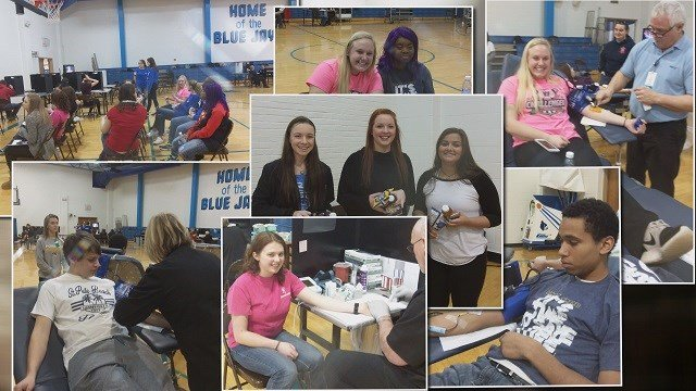 Cross town rivals come together to support a Borgia High School student battling cancer. (Credit: Washington High School students)