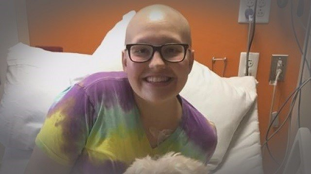Stephanie Lindemann is battling a type of bone cancer, and the community is rallying behind her. (Credit: Lindemann family)