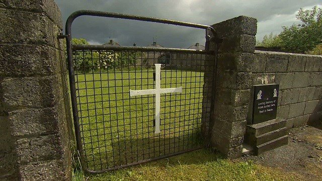 """Excavations have uncovered """"significant quantities of human remains"""" at a former home for unmarried mothers run by nuns in Ireland, officials said Friday, March 3, 2017."""