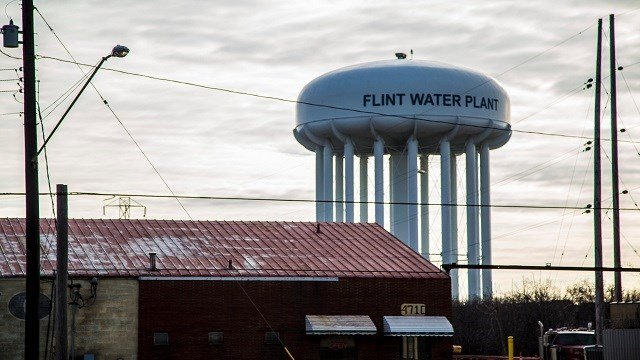 When Michigan officials switched water sources for Flint, Michigan, from Lake Huron to the Flint River it introduced iron and lead into the water supply. (Credit: Jeremy Moorhead/CNN)