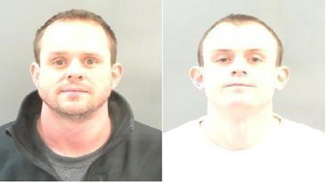 Ryan Hartman (right) and James Hartman (left) charged with shootings of fire chief, female passenger in Soulard.