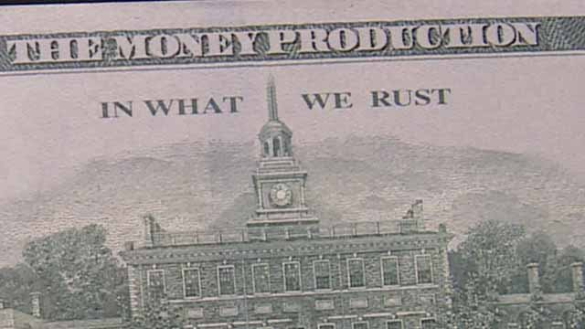 Authorities say 'motion picture' money, a form of counterfeit money is going around in the St. Louis area. Credit: KMOV