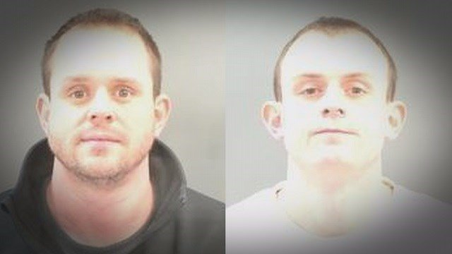 Police say 33-year-old Ryan Hartman and 23-year-old James Hartman drove up to the victims car and opened fire on the morning of February 6, in Soulard.  (Credit: St. Louis Police)