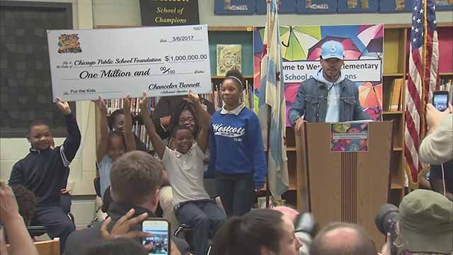 Chance the Rapper donated $1 million to the Chicago Public Schools. Credit: KMOV