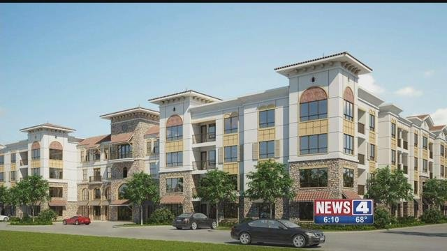 Construction on this proposed development on the Hill is scheduled to begin before the end of the year. Credit: KMOV