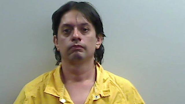 Jared Speichinger, 40, is accused of arson (Credit: Belleville Police)