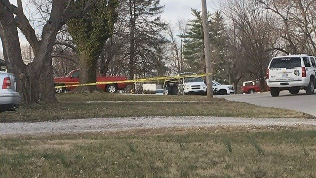Residents in a Wentzville neighborhood met with police on Thursday concerning recent crime. (Credit: KMOV)