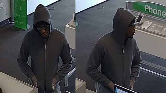 Police believe this man robbed a Cricket Wireless store on Chippewa on March 1. Credit: SLMPD