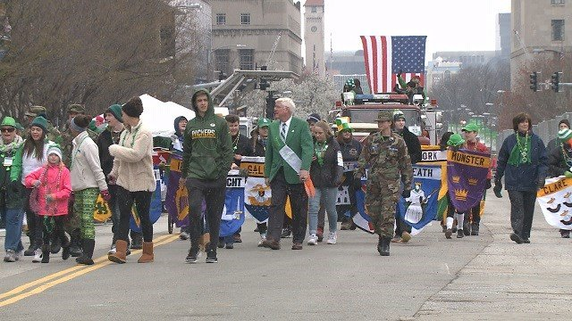 48th Annual St. Patrick's Day Parade in St. Louis. (Credit: KMOV)