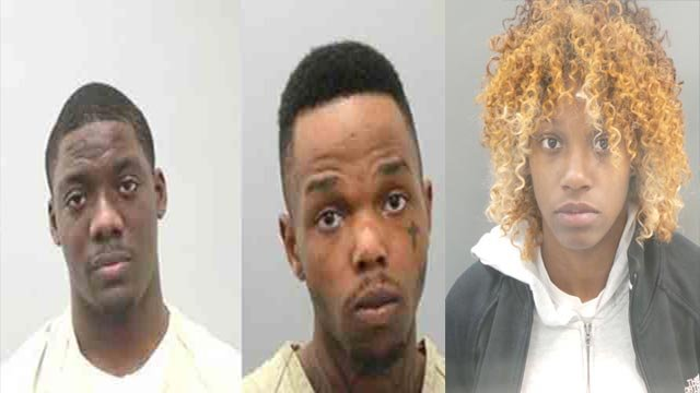 Darryon Rowell, Erick Ivory & Dominique Williams are accused of murdering Markus Jones in 2015 (Credit: St. Louis Police)