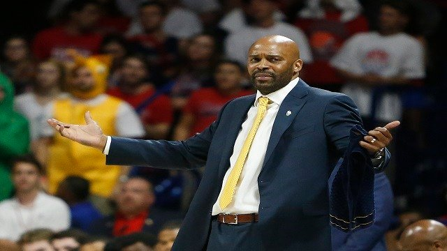 California head coach Cuonzo Martin during the second half of an NCAA college basketball game against Arizona, Thursday, March 3, 2016, in Tucson, Ariz. (Credit:AP Photo/Rick Scuteri)