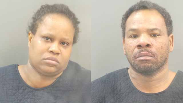 Yolanda Jackson, 40, and Donnie Holmes, 41, are charged in connection to the death of their son Damien Holmes, 12. He was allegedly accidentally shot in their home by a 9-year-old. Credit: SLMPD