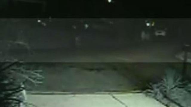 Surveillance video shows kids running from home on Dogwood Lane (Credit: Neighbor)