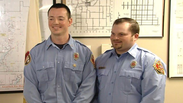 Paramedics Todd Zobrist and Ty Barr  (KMOV)