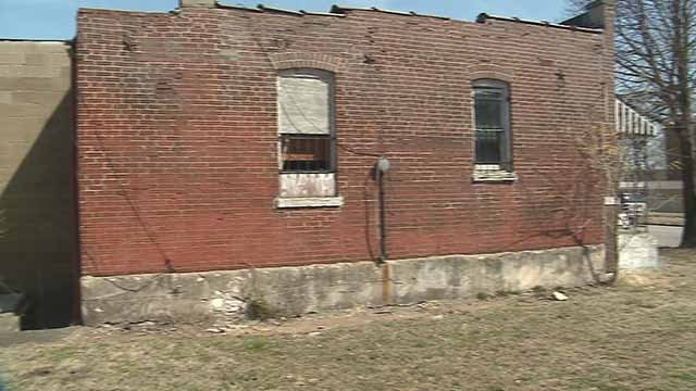 Many people are hoping to save this north St. Louis house that Chuck Berry lived in from 1950-1958. Credit: KMOV