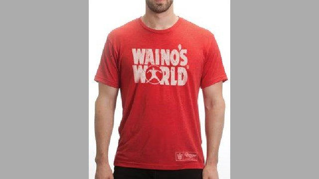 The Cardinals Official Team Store at Busch Stadium will be exclusively selling 'Waino's World' t-shirts to raise money for charity. (Credit: KMOV).