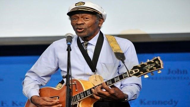 Chuck Berry (Credit: AP Images)