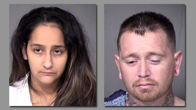 Wendy Lavarnia and Kansas Lavarnia are facing murder charges. (Credit: Maricope County Sheriff).
