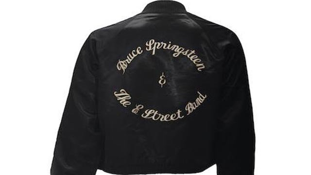 A Bruce Springsteen Tour jacket gifted by Al Pacino (Credit: Bonhams Auction House)