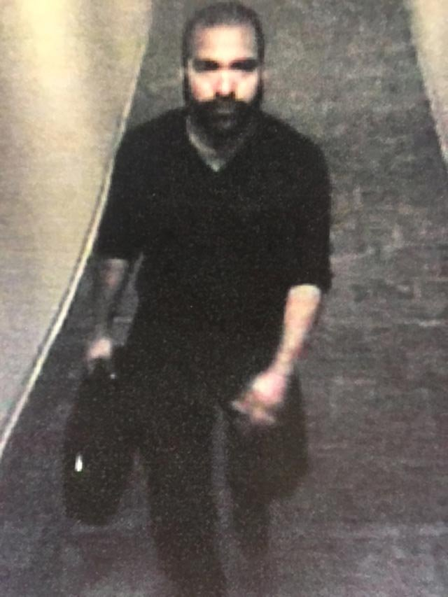 """""""Person of interest"""" sought after doctor's office burglarized over the weekend (Credit: Town & Country Police)"""