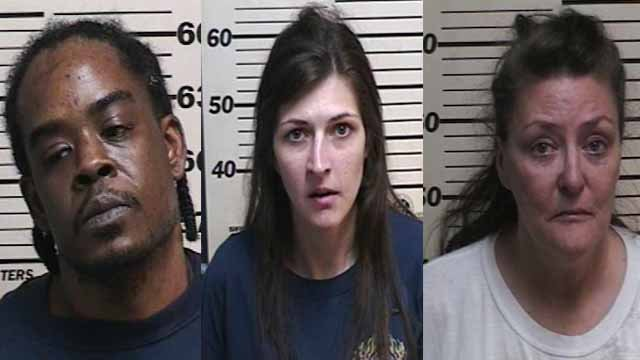 Police say three people are in custody after a man was shot at while soliciting prostitution. (Credit: Wood River Police Department)
